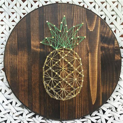 String Craft - pineapple string diy idea inspiration