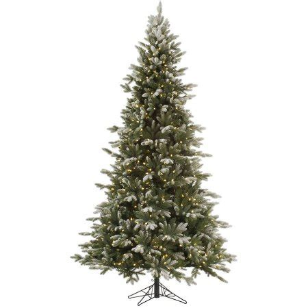 vickerman 9 frosted balsam fir artificial christmas tree