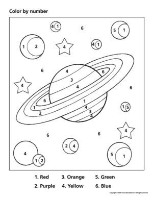 preschool coloring pages outer space preschool space theme printables activity planning by