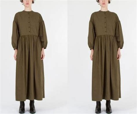 creatures of comfort dress twitter is losing it over this 570 colonial inspired