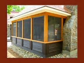 enclosing a patio the leisure store inc enclosed existing porch and deck photos