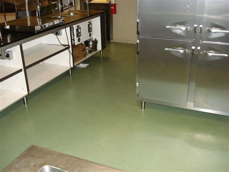 Mosaix Cementight   Urethane Composition Floor   Kitchen