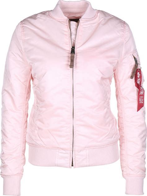 Jual Jaket Bomber Alpha Industries alpha industries ma 1 vf 59 w bomber jacket pink