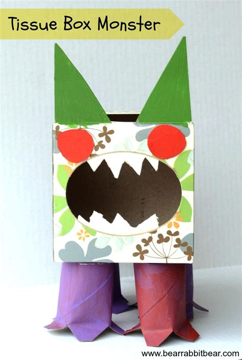tissue paper box craft turn a kleenex box into a munchkins and