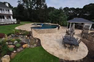 Paver Stone Patios by Stone Paver Patio Paver Pool Pavers Pictures To Pin On