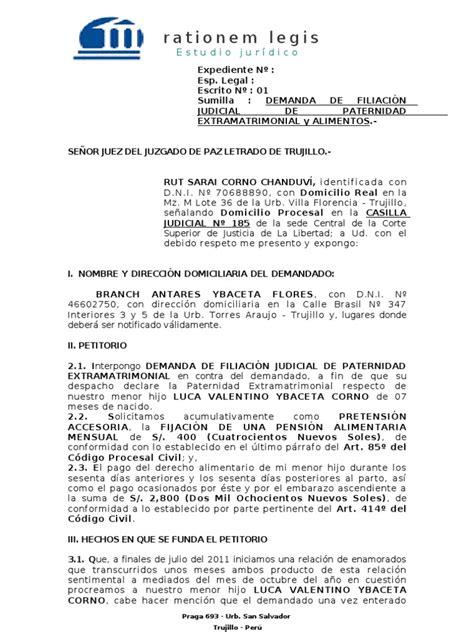 permiso por paternidad 2016 mexico demanda de filiaci 211 n extramatrimonial alimentos