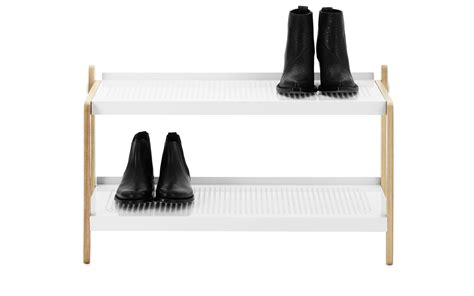 Sneaker Shelf Rack by Functional Shoe Rack Interior Decorating Accessories