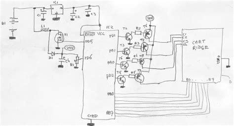 capacitor power supply for microcontroller sprites mods electronic st schematic