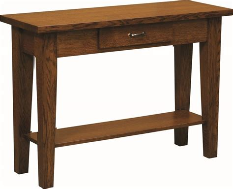 Shaker Style Sofa Table by Heritage Shaker Sofa Table From Dutchcrafters Amish Furniture