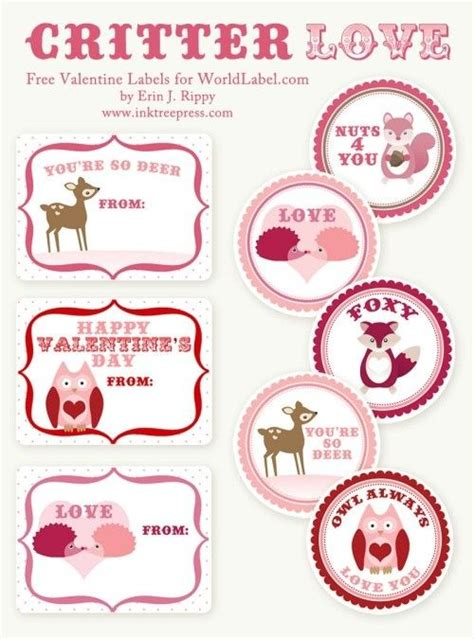 printable valentine template 1000 images about valentine s day labels templates and