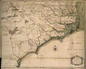 map of colonial carolina a new and correct map of the province of carolina