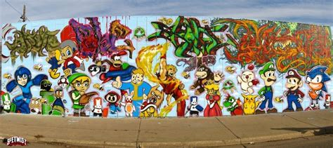 Graffiti Wallpaper Ps3 | colorado s gaming graffiti wall