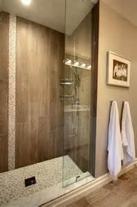 Wood floors master bath bathroom wood tile floors avalon interiors