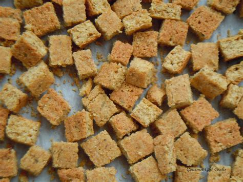 gourmet girl cooks grain free stuffing bread cubes to use in your favorite stuffing recipe