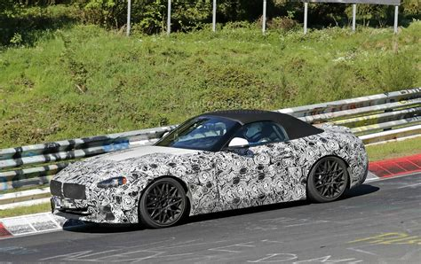 new bmw 2018 z4 2018 bmw z4 s20i interior spyshots reveal specs and 6