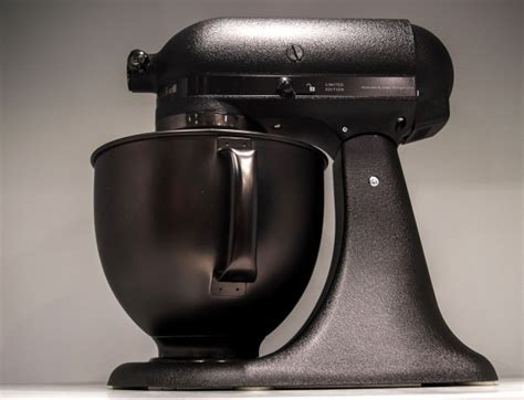 black tie stand mixer kitchenaid has a new all black stand mixer because 2017