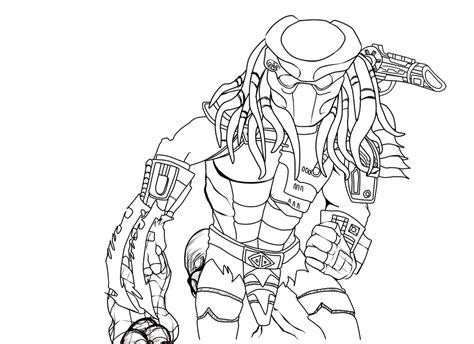 vs predator drawings vs predator coloring pages predator line by