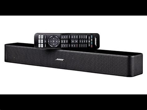 bose solo tv sound system great  sound bar wit