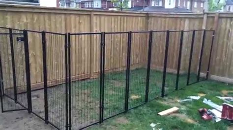 Backyard Fence For Dogs by Backyard Renovation Building The Fence Part 2