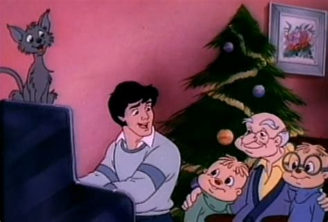 merry christmas  carroll alvin   chipmunks wiki fandom powered  wikia