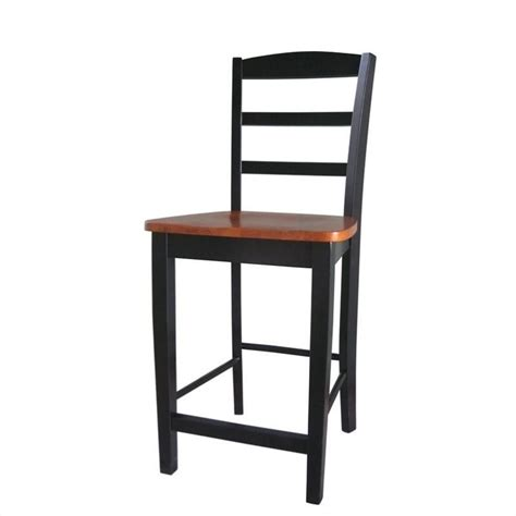 Stool Is Black And Soft by 24 Quot Counter Stool In Black And Soft Cherry S57 402