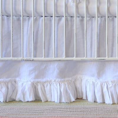 White Crib Bed Skirt White Ruffle Crib Skirt Tiny You Think Skirts And Do You