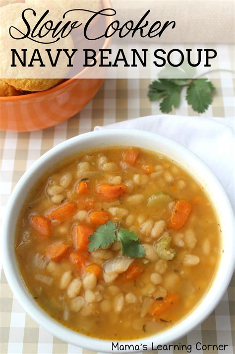 cooker navy bean soup and it s gluten free mamas