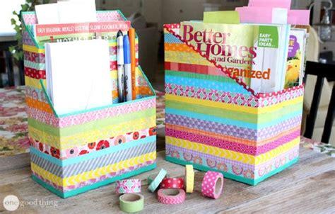 Cereal Box Desk Organizer 24 Manualidades Para Hacer Con Cajas De Cart 243 N Handfie