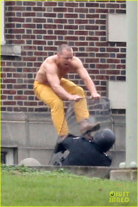 james mcavoy films 2018 shirtless james mcavoy attacks police in intense glass