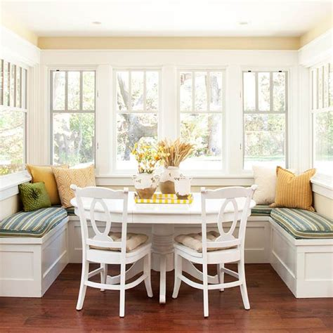 Banquette Breakfast Nook by How To Get Organized In A Small House The Inspired Room