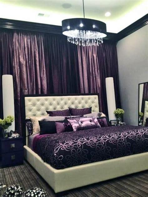 schwarze und lila schlafzimmer 25 attraktive ideen f 252 r schlafzimmergestaltung