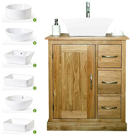 solid oak vanity units for bathrooms 50 off solid oak vanity unit with basin 700mm bathroom prestige
