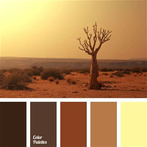 desert colors best 25 brown color schemes ideas on living