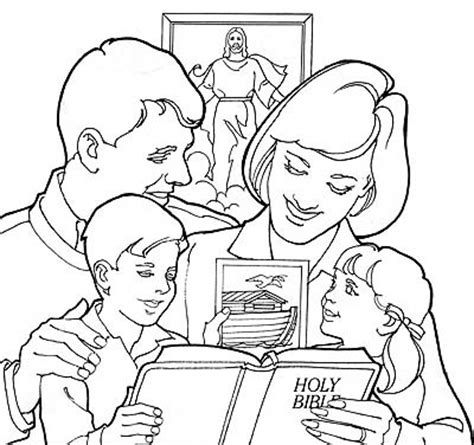 coloring pages family praying together lds coloring pages 2018 2009