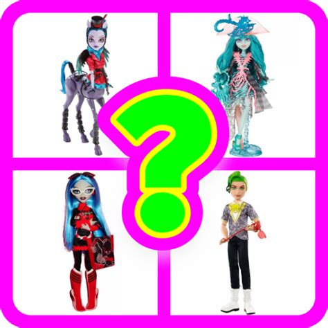 monster high doll design games monster high doll guess the name