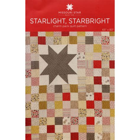 Quilting Company by Starlight Starbright Quilt Pattern Msqc Missouri