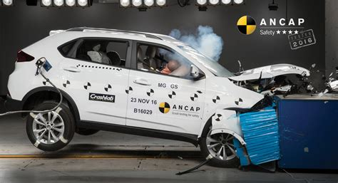Safety Ratings For Suv by Ancap Publishes Safety Ratings For Mg Suv And Toyota