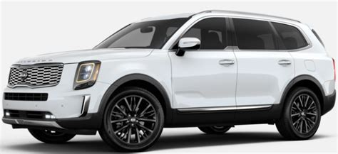 2020 Kia Telluride White by 2019 Kia Telluride Exterior Color Options