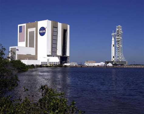 Day 4first The Kennedy Space Center Heres by For Rent Slightly Used Vehicle Assembly Building