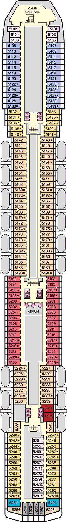 carnival legend floor plan carnival legend deck 5 upper deck cruise critic