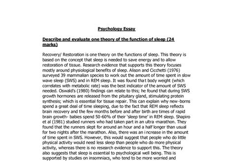 Sleep Deprivation Essay by Sleep Deprivation Research Paper 28 Images Sleep Deprivation Essay Costa Ballena Sleep