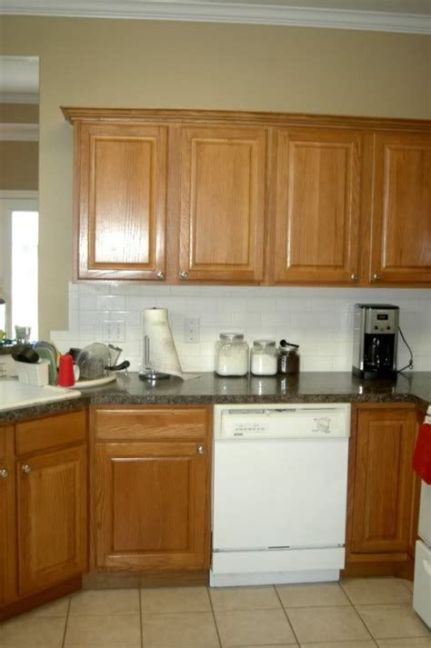 Honey Oak Kitchen Cabinets Wall Color by 53 Best Make It Amp Love It Home Improvement Images On
