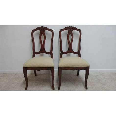 ethan allen country french legacy dining room side