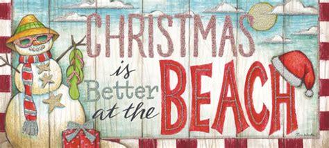 christmas   beach long format  glitter tina wenke warm weather christmas card  lpg