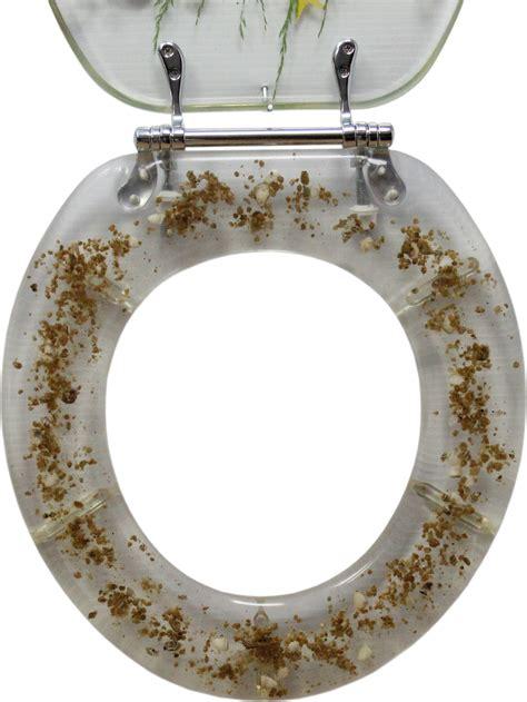decorative toilet seat seahorse design standard