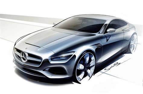 mercedes concept mercedes concept s class coupe previewed