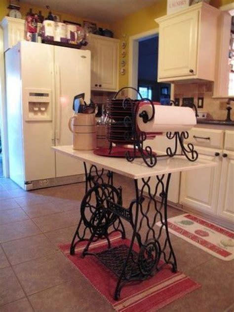 macchinari da cucina il riciclo fai da te di vecchie macchine da cucire