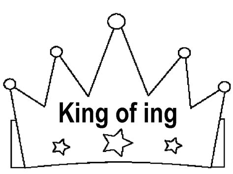 How To Make A Prince Crown Out Of Paper - template of a crown clipart best