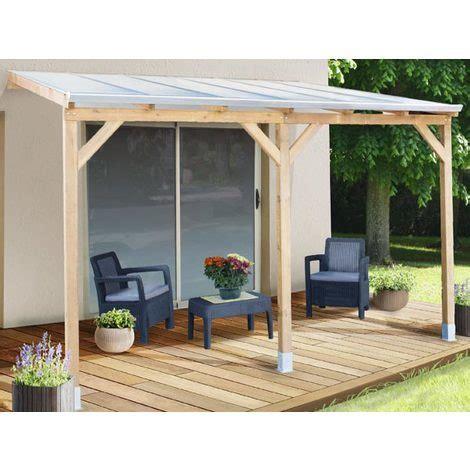 terrasse 3x3 pergola en bois couv terrasse 3x3 avec ou sans toit