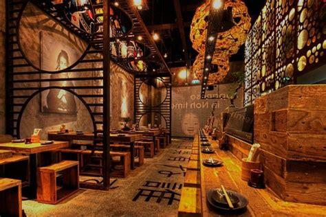Decoration Restaurant Chinois by D 233 Coration D Un Restaurant Japonais Par Mojo Design